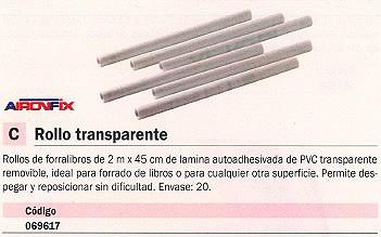 ENVASE DE 20 UNIDADES AIRONFIX ROLLO PAPEL MANUALIDADES 2 M X 45 CM REMOVIBLE 69617