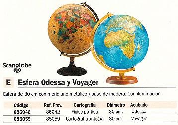 Comprar Esferas Cartografia 085059 de Scangloble online.