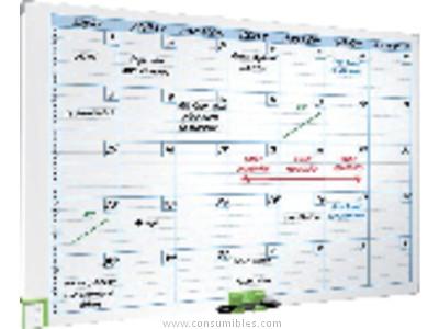 NOBO PLANNING MAGNETICO MENSUAL 60X90 PIZARRA BLANCA 3048101