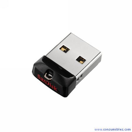 Memoria USB SANDISK CRUZER FIT USB FLASH DRIVE 64GB