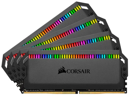 MEMORIA CORSAIR DDR4 32GB 4X8GB PC 3000 DOMINATOR PLATINUM RGB BLACK
