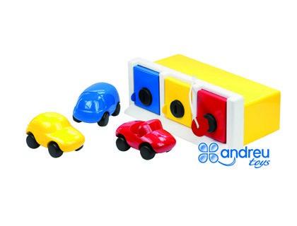 Juegos didacticos Ambitions juego LOCK UP GARAGE 30X36X14,5 cm