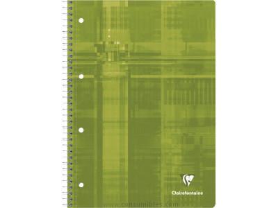 ENVASE DE 5 UNIDADES CLAIREFONTAINE CUADERNO METRIC STUDIUM 80H A4+ CUADRICULA 5X5 SURTIDO 8252C