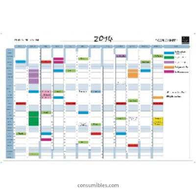 Plannings anuales EXACOMPTA PLANNING MAGNETICO ANUAL 59X90 CM 56155S