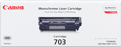 TONER LBP-2900/3000 NEGRO CART-703