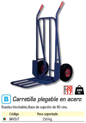 Mantenimiento SIN MARCA CARRETILLA PLATAFORMA 250KG. 8037469