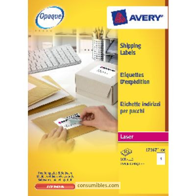 Comprar Etiquetas para impresoras inkjet 707891 de Avery online.