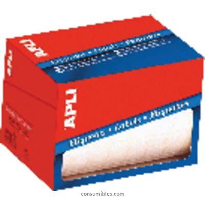 APLI ETIQUETAS EN ROLLO 60 UD 34X67 BLANCAS 1695