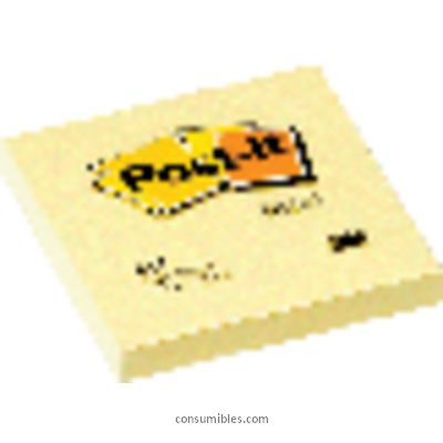 ENVASE DE 12 UNIDADES POST IT NOTAS ADHESIVAS 100H AMARILLO 76X76 MM FT500072937
