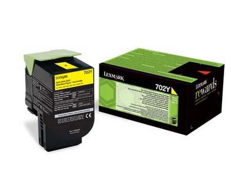 Comprar cartucho de toner 70C20Y0 de Lexmark online.
