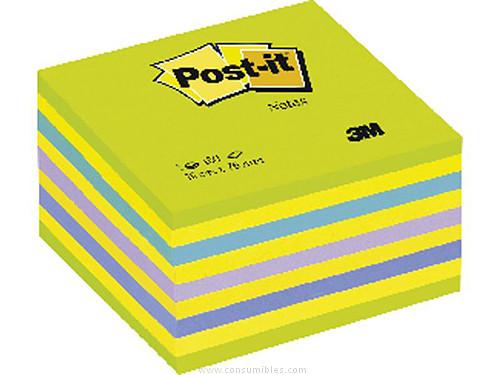 Comprar Cubos de notas Post-it 711038 de Post-It online.