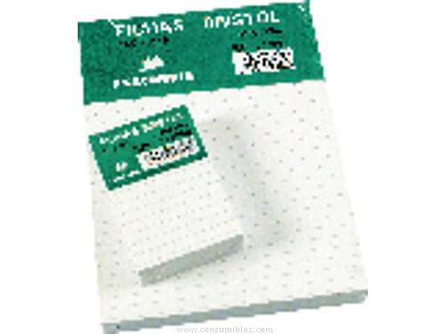 EXACOMPTA FICHAS BRISTOL CAJA 100 UD 65X95 LISO 10500S