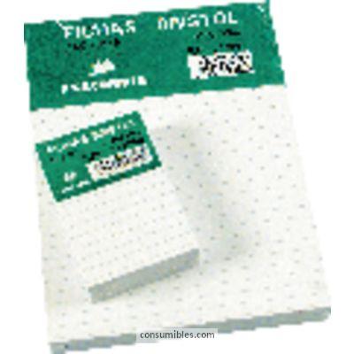 EXACOMPTA FICHAS CAJA 100 UD 75X125 LISO 10501E