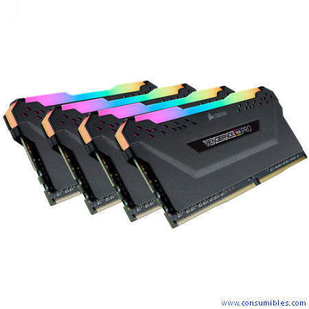 MEMORIA PC3200 CORSAIR DDR4 32GB VENGEANCE RGB PRO BLACK