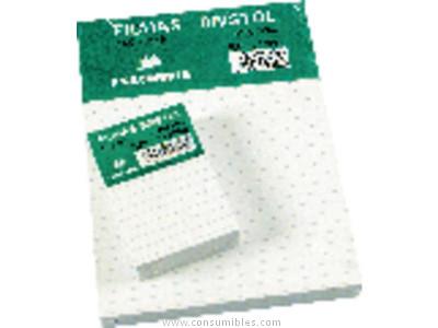 EXACOMPTA FICHAS BRISTOL CAJA 100 UD 160X215 HORIZONTAL 713804S