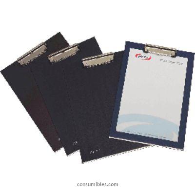 Carpetas con pinza PARDO PORTABLOCS AZUL PINZA METAL 82003