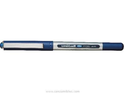 ENVASE DE 12 UNIDADES UNIBALL ROLLER UB 150/UB 157 VERDE TRAZO 0,3 MM TINTA LIQUIDA 162578000
