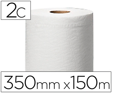 PAPEL SECAMANOS CENTRAL 2 CAPAS 150,2 MTS PARA DISPENSADOR M2 ROLLOS