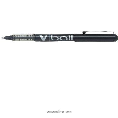 Rollers tinta liquida PILOT ROLLER V-BALL 05 NEGRO TRAZO 0,3 MM TINTA LIQUIDA NVBN
