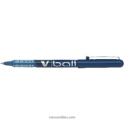Rollers tinta liquida PILOT ROLLER V-BALL 05 AZUL TRAZO 0,5 MM TINTA LIQUIDA NVBA