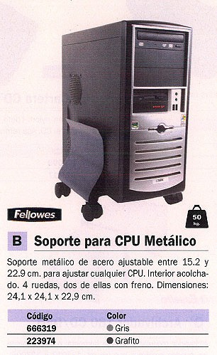 FELLOWES SOPORTE CPU 9169201