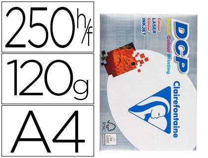 ENVASE DE 5 UNIDADES DCP PAPEL IMPRESIÓN COLOR 250H 120 G. A4 1844C