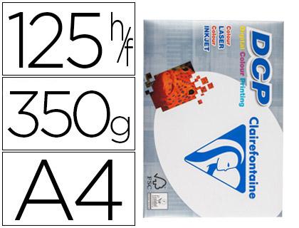 ENVASE DE 4 UNIDADES DCP PAPEL IMPRESIÓN COLOR 125H 350 G. A4 3806C