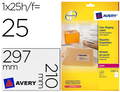 Comprar DIN A4 72182 de Avery online.
