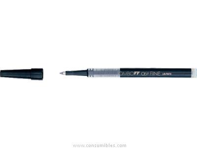 TOMBOW RECAMBIO ROLLER 0,3 MM. NEGRO BK LP0333