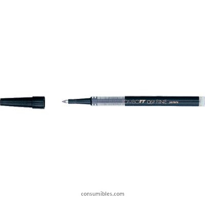 TOMBOW RECAMBIO ROLLER TRAZO 0.5 MM PUNTA MEDIA BK LP0533
