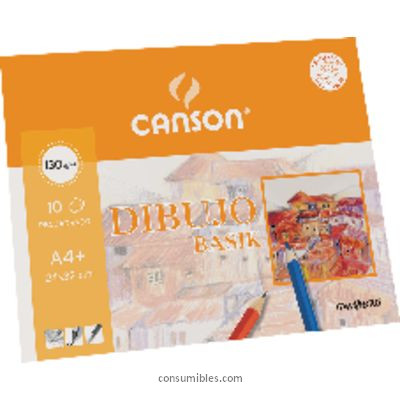 GUARRO CANSON PAPEL 10 HOJAS A4 130 GR 400045613