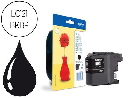 Comprar cartucho de tinta LC121BK de Brother online.