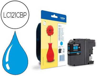 Comprar cartucho de tinta LC121C de Brother online.