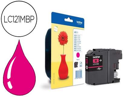 Comprar cartucho de tinta LC121M de Brother online.