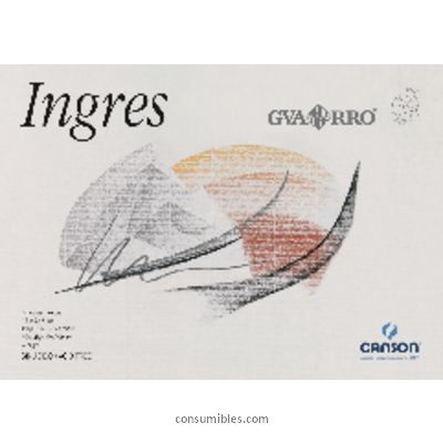 DIN A4 CANSON PAPEL DIBUJO INGRES 20 HOJAS A4 108 GR 200400726