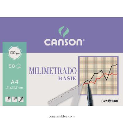 Comprar Papel milimetrado 729046 de Canson online.
