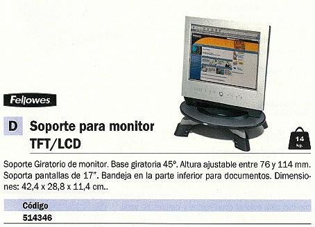 FELLOWES SOPORTE PARA MONITOR 91450