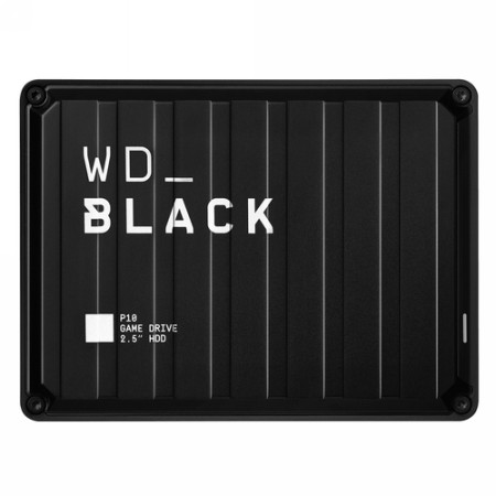 DISCO DURO EXTERNO P10 GAME DRIVE 4TB NEGRO WESTERN DIGITAL