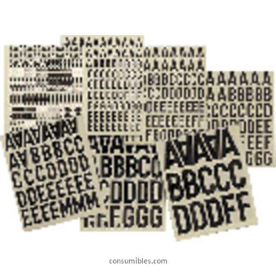 Comprar Letras, numeros y signos adhesivos 732702 de Apli online.