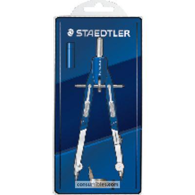 STAEDTLER COMPASES MARS 552 170 MM MINAS 4 MM SIN ALARGADERA 552 01