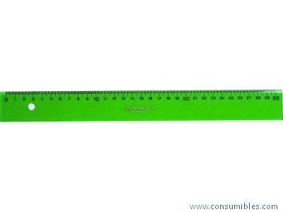 Plastico verde FABER CASTELL REGLA 60 CM GRADUADA VERDE 816