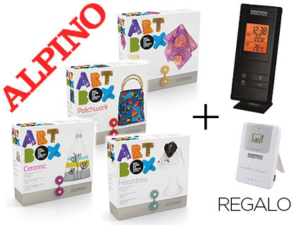 LOTE ALPINO MANUALIDADES ART BOX