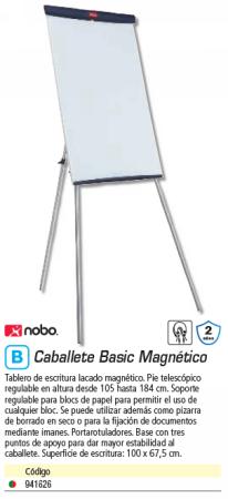 NOBO CABALLETE BASIC STEEL TRIPOD EASEL 1905243