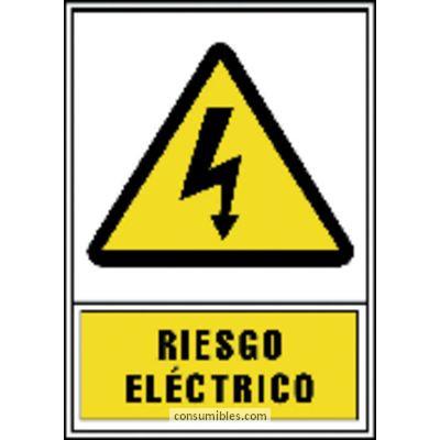 ARCHIVO 2000 SEÑALIZACION RIESGO ELECTRICO 297X105 MM FOTOLUMINISCENTES 6172-03AM