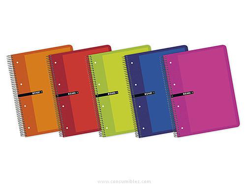 Comprar Cuadernos con espiral microperforados 739638 de Enri online.