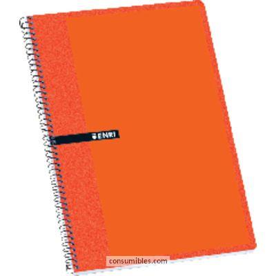 Comprar Cuadernos con espiral gama escolar 739883 de Enri online.