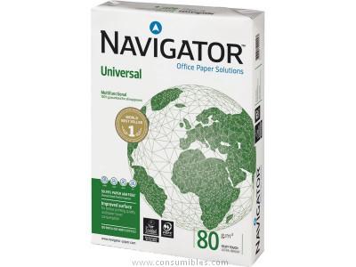 ENVASE DE 5 UNIDADES NAVIGATOR UNIVERSAL. PAPEL MULTIFUNCION 500H 80 G. A3 0113UN