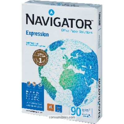ENVASE DE 5 UNIDADES NAVIGATOR EXPRESSION PAPEL MULTIFUNCION500H 90 G. A4 0594PN
