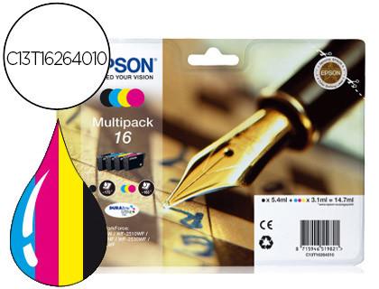 EPSON DURABRITE ULTRA INK CARTUCHO 16 MULTIPACK 4 COLORES