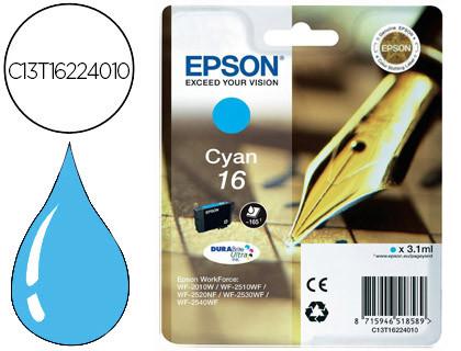 Cartucho de Tinta Cian Epson 16 - (T1622)
